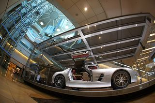 SLS AMG in Haneda Airport